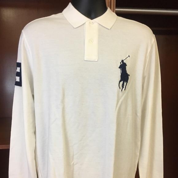 POLO Ralph Lauren Blackwatch Classic Fit Big Pony Long Sleeve Shirt NWT
